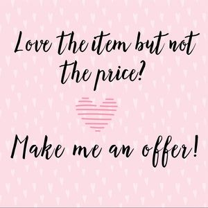 Make me an offer I can't refuse! 💕